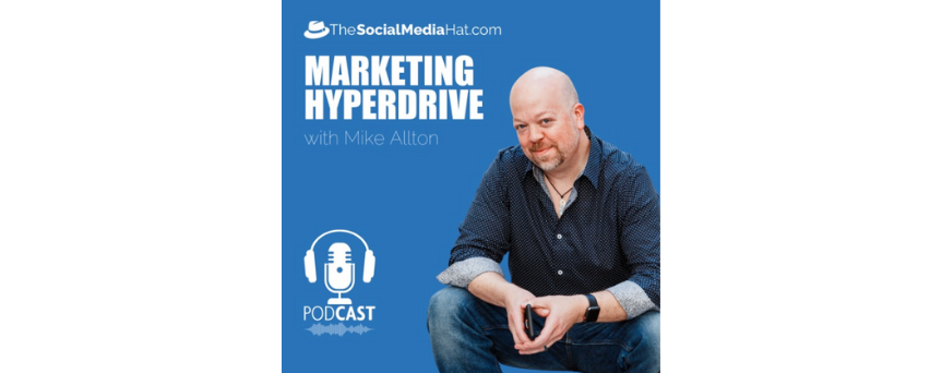 Marketing Hyperdrive Podcasts logo