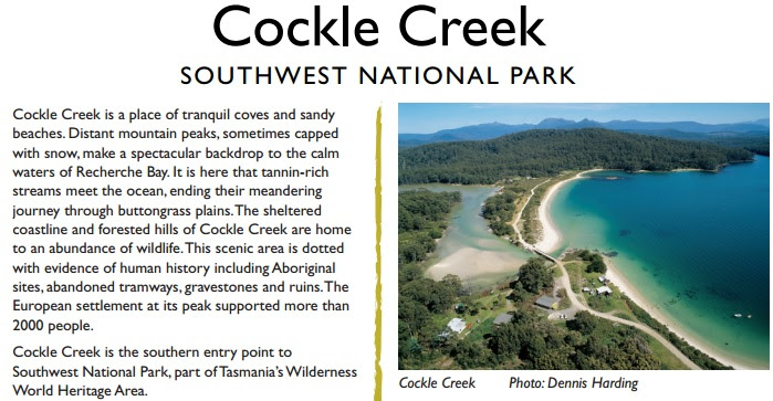 Cockle Creek SouthWest National Park