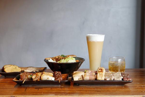 台北士林|澠井川日式串燒居酒屋~再喝一口奶油芒果啤酒,記憶著,質樸炭火香梳理的夏天(捷運士林站)~