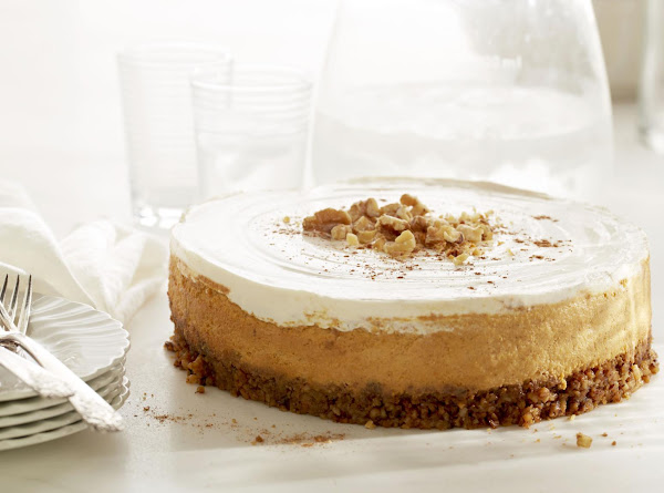 Diamond Pumpkin Walnut Cheesecake Recipe