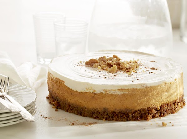 Diamond Pumpkin Walnut Cheesecake Recipe
