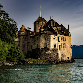 Château de Chillon, Lake Geneva by Sayan Nandi - Buildings & Architecture Public & Historical