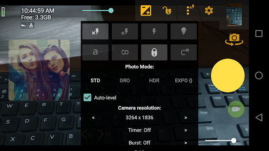 Camera Pose Guide - náhled