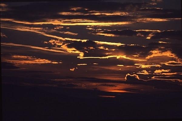 le nuvole e i loro colori di antonio