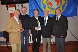 Photo: Gruppenbild der scheidenden Vorstandsmitglieder