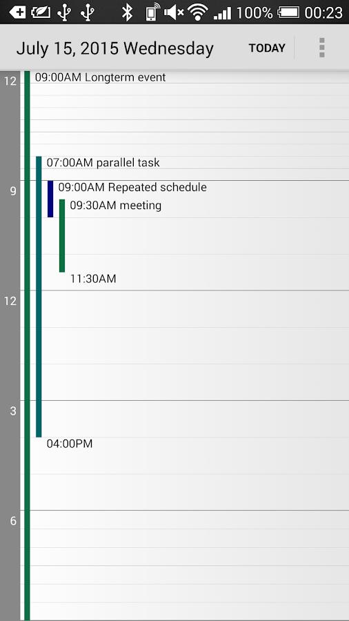 Calendar Pad Pro- screenshot