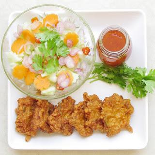 Thai Shrimp Cake.