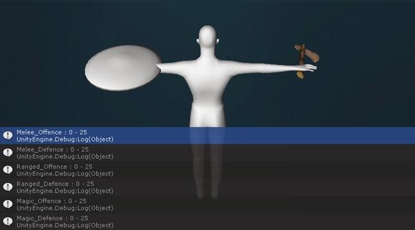 [Project RPG] Hướng dẫn cách xuất thông tin nhân vật trong Unity