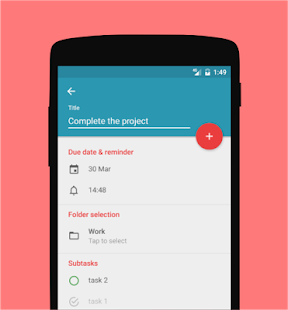 Memody - free cloud to-do list- screenshot thumbnail