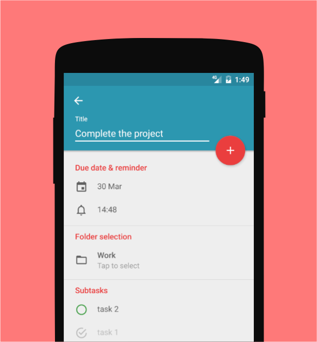 Memody - free cloud to-do list- screenshot