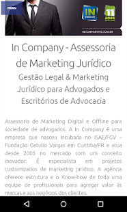 Marketing Jurídico: miniatura da captura de tela