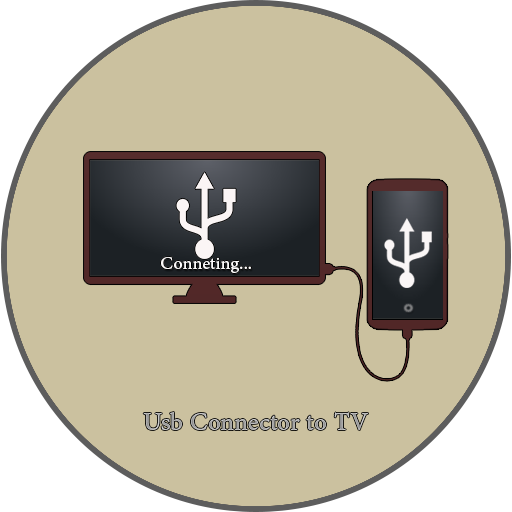 Icon for Phone Connect to tv-(usb/hdmi/mhl/otg connector)