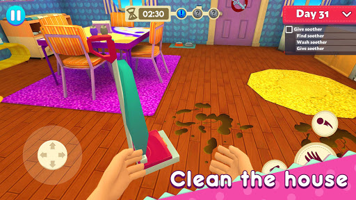 Mother Simulator: Family Life apkpoly screenshots 4