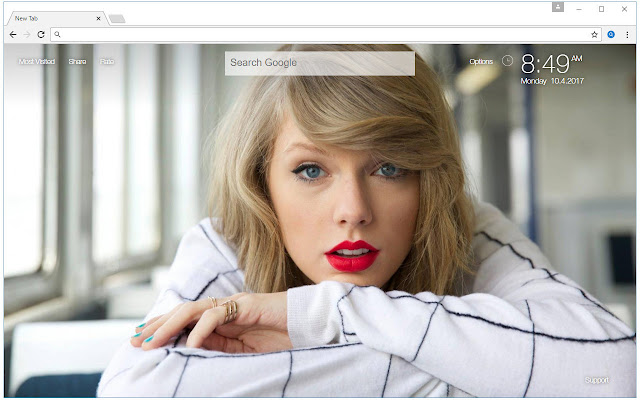 Taylor swift wallpaper hd new tab pop themes chrome web store voltagebd Images