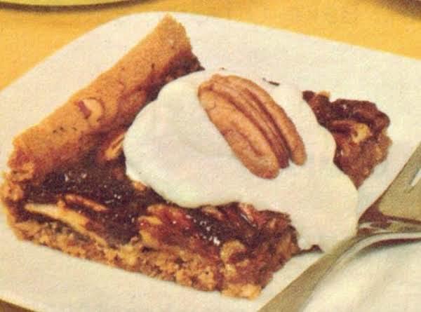 Cookie Crust Pecan Pie Recipe 1969
