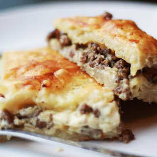 Phyllo Meat Pie (Egyptian Goulash).