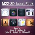 LauncherPro+ M22-3D Icons Pack icon