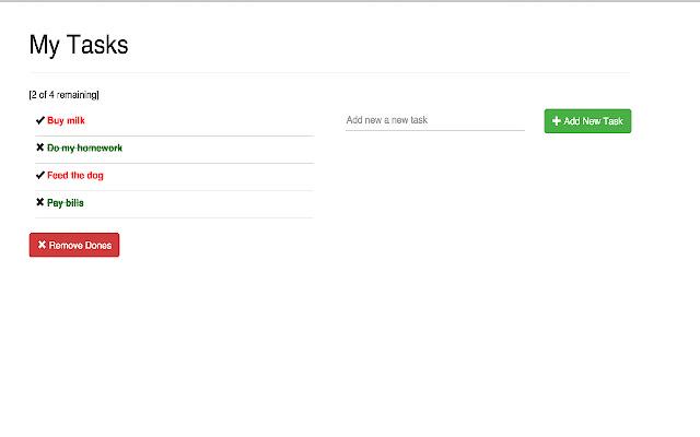My Tasks: Todo-List for Google Chrome