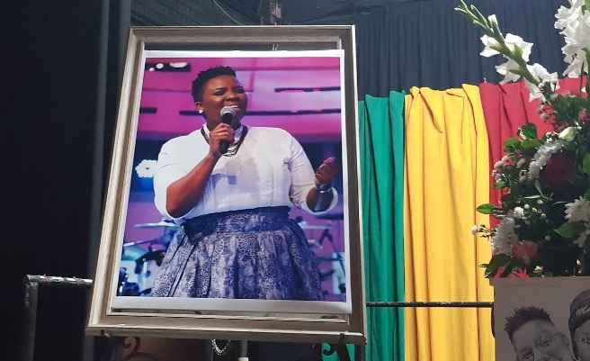 Loved ones have gathered to pay tribute to Siyasanga Kobese.