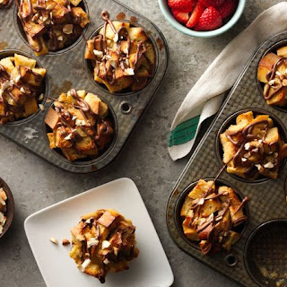 Muffin-Tin Cream Cheese-Nutella™ French Toast.