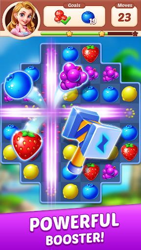 Fruit Genies - Match 3 Puzzle Games Offline apkslow screenshots 2