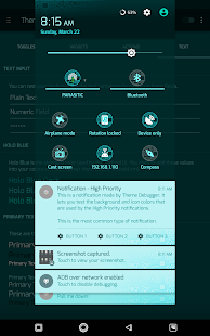 PCB Cyan ⁞ CM13 Theme- screenshot thumbnail