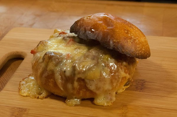 Awesome Beef Stuffed Artisan Rolls Recipe