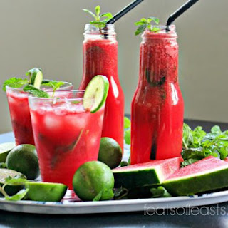 Watermelon Lime Juice Mint Recipes