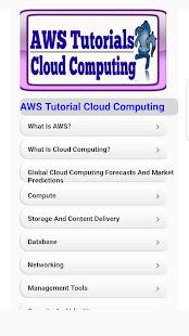 AWS Tutorials for Cloud Computing - náhled