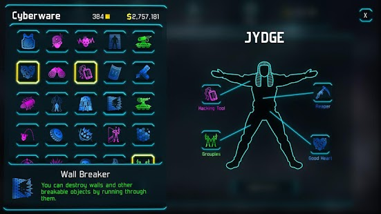 JYDGE Screenshot