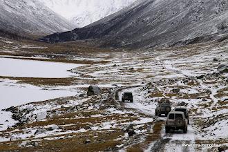 Photo: Остатки былой дороги ведут в каменоломню.