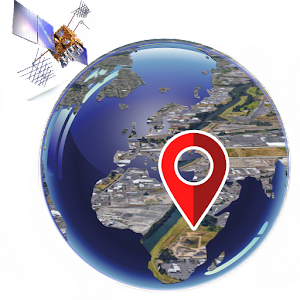 Earth Map Live : GPS Tracking - Voice Navigation - Android ...