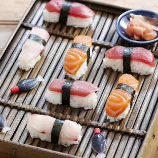 Fresh Nigiri Sushi.