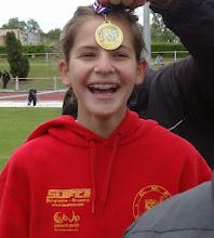 Photo: Maylis : Championne de Gironde Hauteur