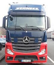 Photo: Werneke New Actros ---> www.truck-pics.eu