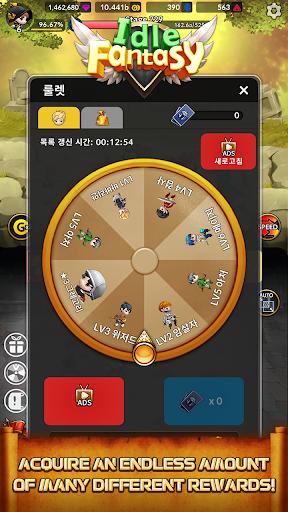 Idle Fantasy Merge RPG screenshot 14
