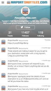 AirportShuttles.com Rides- screenshot thumbnail