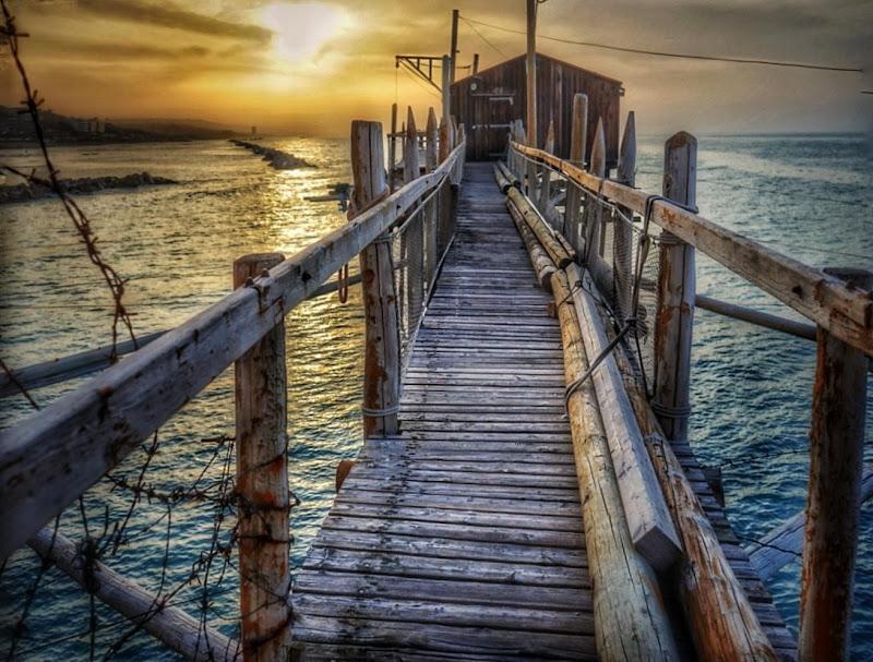 """""""Il vecchio (legno) e il mare"""" di pina_de_curtis"""