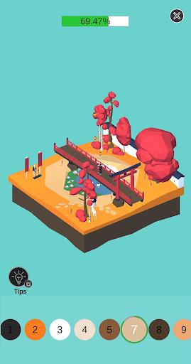 Color Pocket World 3D  captures d'écran 2