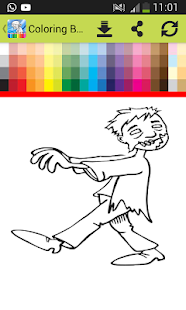 Coloring Book For Plants Vs Zombie Screenshot Thumbnail