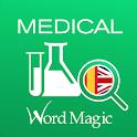 English Spanish Medical Dictionary icon
