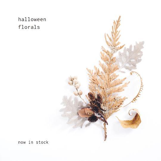 Halloween Florals - Halloween Template