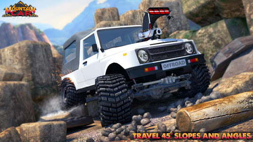 Code Triche Mountain Car Drive 2019 : Offroad Car Driving SUV APK MOD screenshots 4