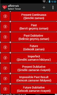 Turkish Verbs Offline noAds screenshot