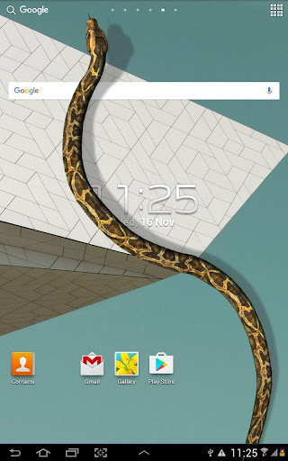 Serpiente en Pantalla de Broma screenshot 4