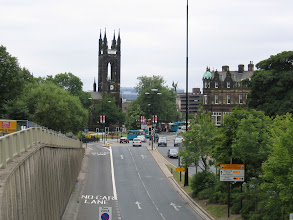 Photo: View from the Robinson Library towards Northumberland Street