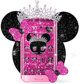 Minny Glitter Queen Theme