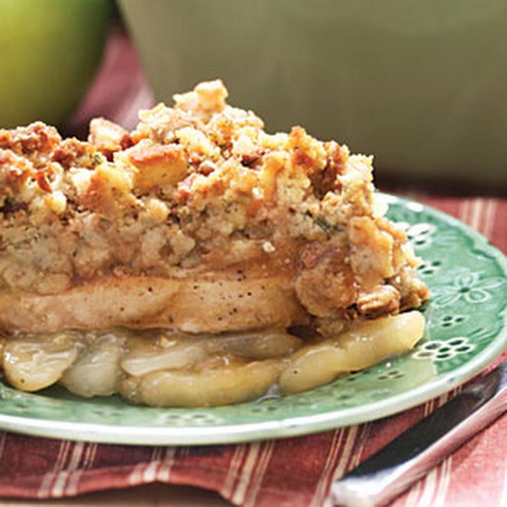 Apple-Pork Chop Casserole Recipe