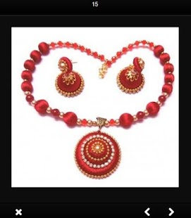 Silk Thread Jewelry - náhled