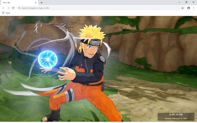 Naruto & Boruto New Tab Theme
